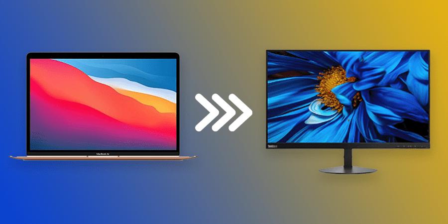 تبدیل صفحه نمایشگر لپ تاپ به مانیتور